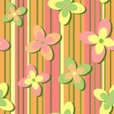 ретро предпосылки флористическое иллюстрация штока