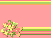 ретро предпосылки флористическое бесплатная иллюстрация