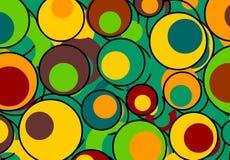 ретро предпосылки цветастое Стоковая Фотография RF