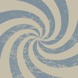 Ретро предпосылка лучей с царапинами Шаблон вектора винтажный старомодный Стоковые Изображения