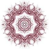 ретро предпосылки флористическое Стоковое Изображение RF