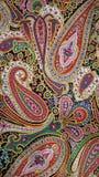 Ретро психоделическая картина Пейсли Стоковая Фотография