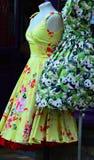 Ретро платья Стоковое Изображение