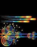 ретро ракеты иллюстрация вектора
