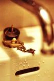 ретро раковина стоковое изображение