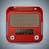 Ретро радио Стоковое Изображение RF