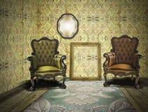 ретро сбор винограда комнаты Стоковая Фотография RF