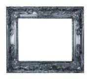 Серебряная рамка Стоковая Фотография
