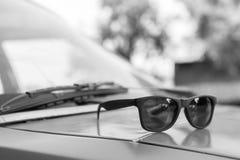 ретро солнечные очки Стоковое Фото