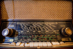 Ретро старое радио Стоковая Фотография