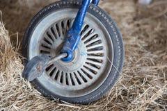 Ретро старые велосипеды колес Стоковые Фотографии RF
