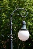 Ретро столб лампы/фонарик улицы Стоковое Изображение RF