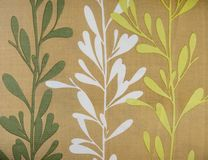 Ретро текстура ткани картины дерева Стоковое Фото