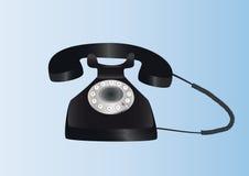 ретро телефон Бесплатная Иллюстрация