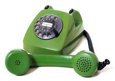 Ретро телефон Стоковая Фотография RF