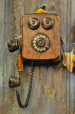 ретро телефон Стоковая Фотография