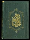 ретро тип Античная винтажная обложка книги журнала дневника Стоковые Фото