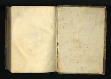 ретро тип страницы старых книг Стоковое фото RF