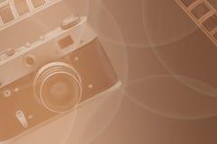ретро тип Фото рассказа Стоковые Изображения RF
