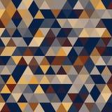 Ретро треугольники стиля с точками полутонового изображения Стоковое Фото