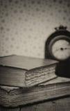 Ретро установка и влияние античных винтажных книг Стоковое фото RF