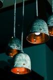 Ретро фонарик потолка стоковое изображение rf
