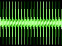 ретро форма волны типа Стоковые Изображения RF