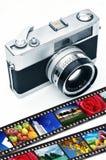 Ретро фотография камеры стоковое фото rf