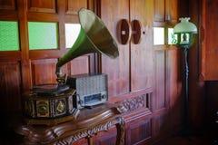 Ретро фото для традиционного тайского аудиоплейера Стоковые Фото