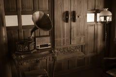 Ретро фото для традиционного тайского аудиоплейера Стоковая Фотография RF