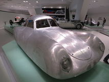 Ретро-футуристический прототип Музей Порше Стоковые Фотографии RF