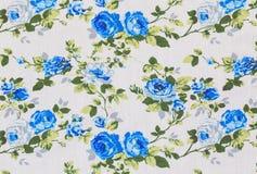 Ретро флористическая ткань Стоковое Изображение