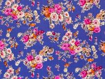 Ретро флористическая ткань Стоковое фото RF