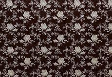 Ретро флористическая ткань Стоковые Изображения