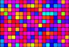 Ретро цветастая предпосылка 02 Стоковые Изображения RF