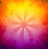 Ретро цветастая предпосылка Стоковые Изображения