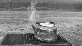 Ретро чайник Стоковое Изображение RF
