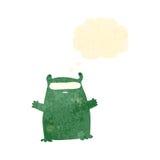 ретро чужеземец шаржа Стоковые Фотографии RF