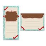 Ретро шаблон поздравительной открытки бесплатная иллюстрация