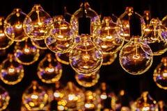 Ретро шарик освещения Стоковое Изображение RF