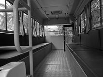 Ретро шина внутрь Стоковые Фото