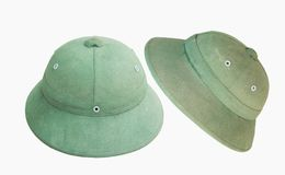 Ретро шляпа на белой предпосылке Стоковое Фото