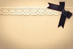 Ретро шнурок Стоковая Фотография RF