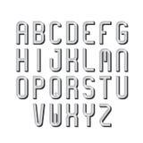 Ретро шрифт, алфавит, тип письма Стоковые Изображения RF