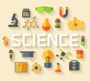 Ретро эксперименты в химии науки Стоковые Фотографии RF