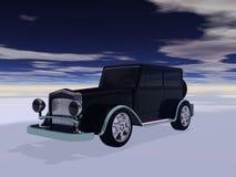 Ретро automobil Стоковая Фотография