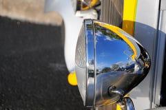 Ретро headlamp автомобиля Стоковая Фотография RF