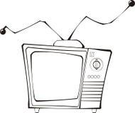 ретро tv Стоковая Фотография RF
