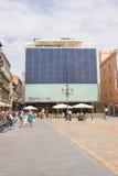 РЕУС, ИСПАНИЯ 3-ЬЕ ИЮЛЯ: Центр Реус Gaudi 3-его июля 2013 в Reu, Испании. стоковая фотография rf