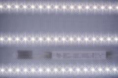 Рефлектор светоизлучающего диода утопил в потолок Стоковое фото RF